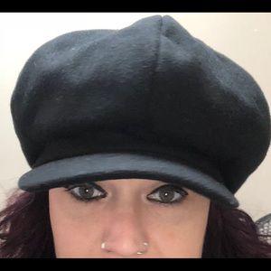 Accessories - Wool Newsboy Hat